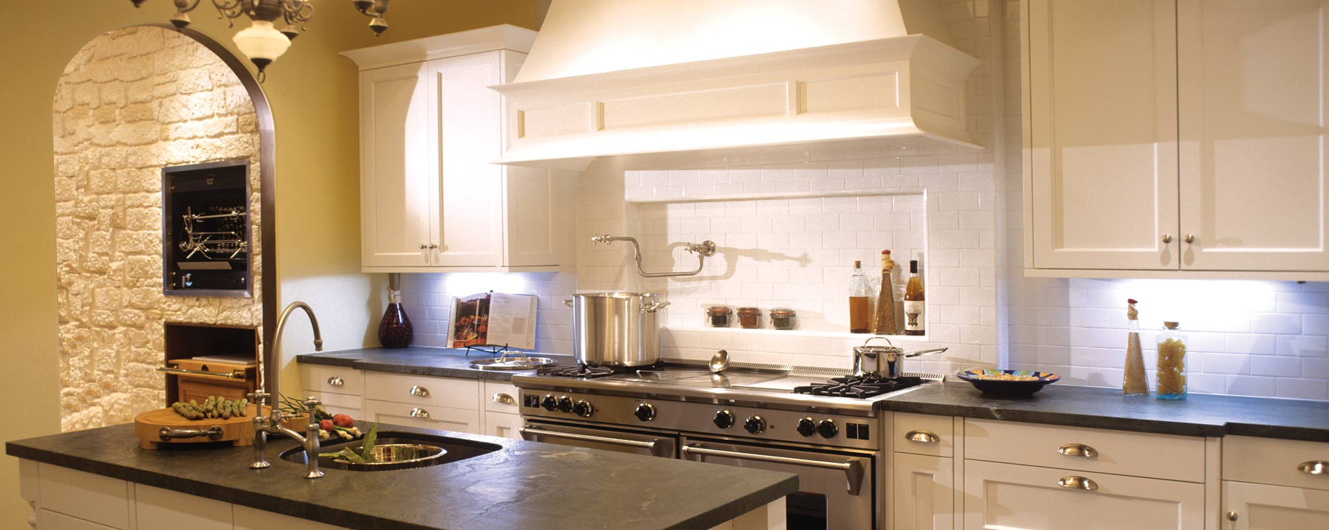 Home artcraft kitchens for Kitchen pictures